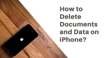 delete documents and data